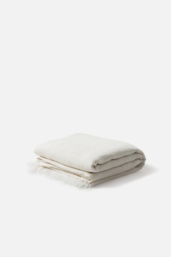 Resort Linen Bedspread Ecru