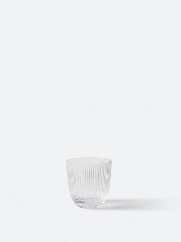 Rib Tumbler Glass Clear - Set of 6