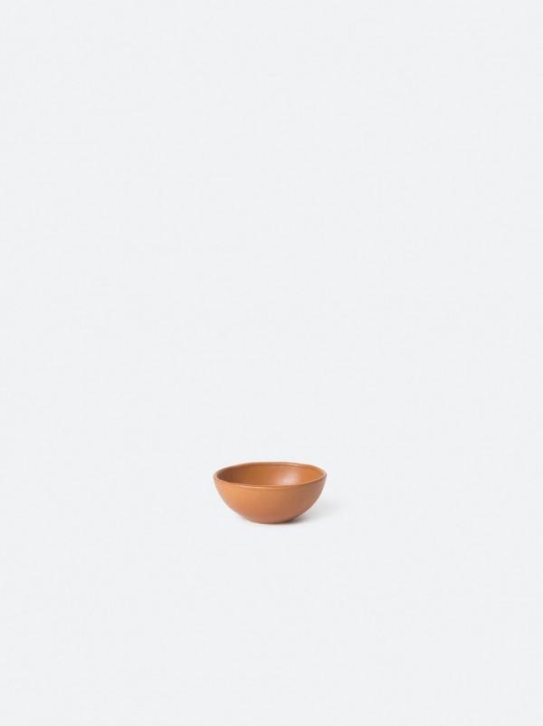 Serena Stoneware Dip Bowl Brick - Set of 4