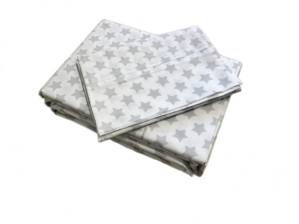 Silver Star Sheet Set