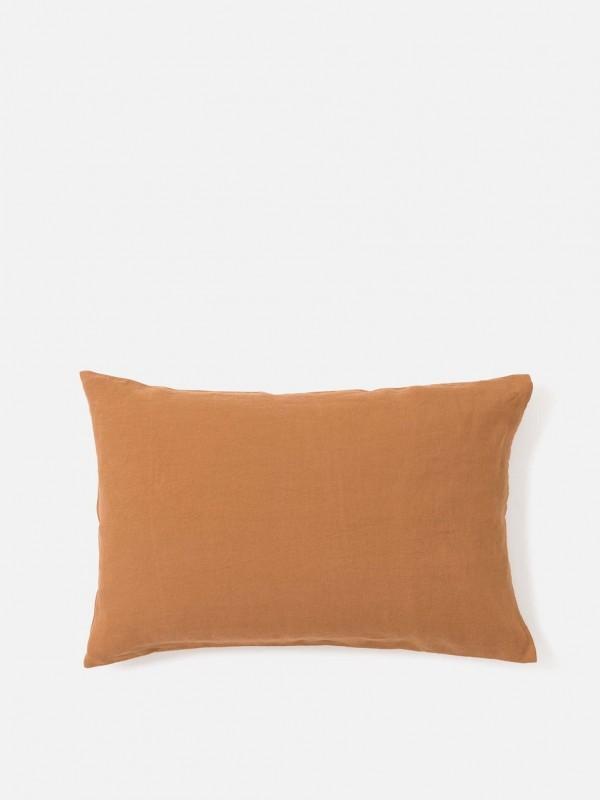 100% Linen Pillowcase Toast Pair