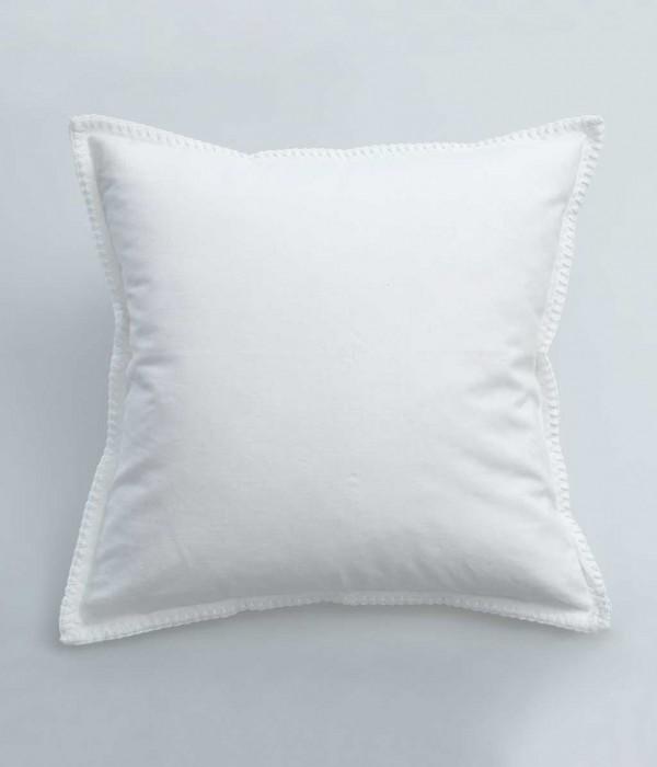 Stitch Cushion by MM Linen White