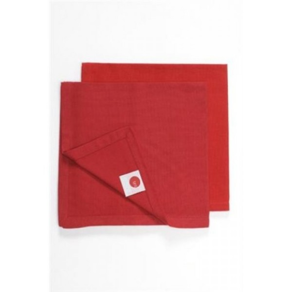Ajoure Chilli Red Napkin - Set of 10
