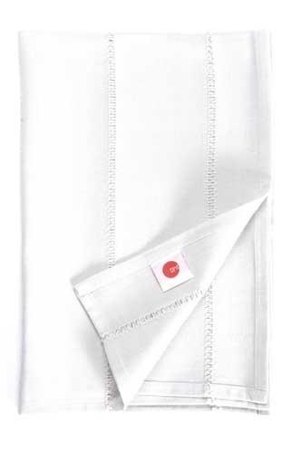 Ajour Snow White Tablecloth -150 x 250 cm