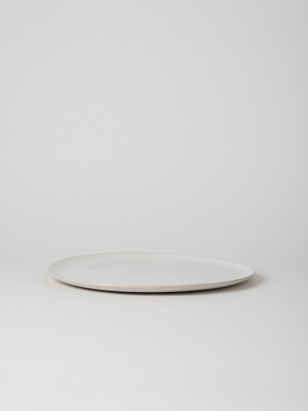 Talo Round Platter White - Set of 2