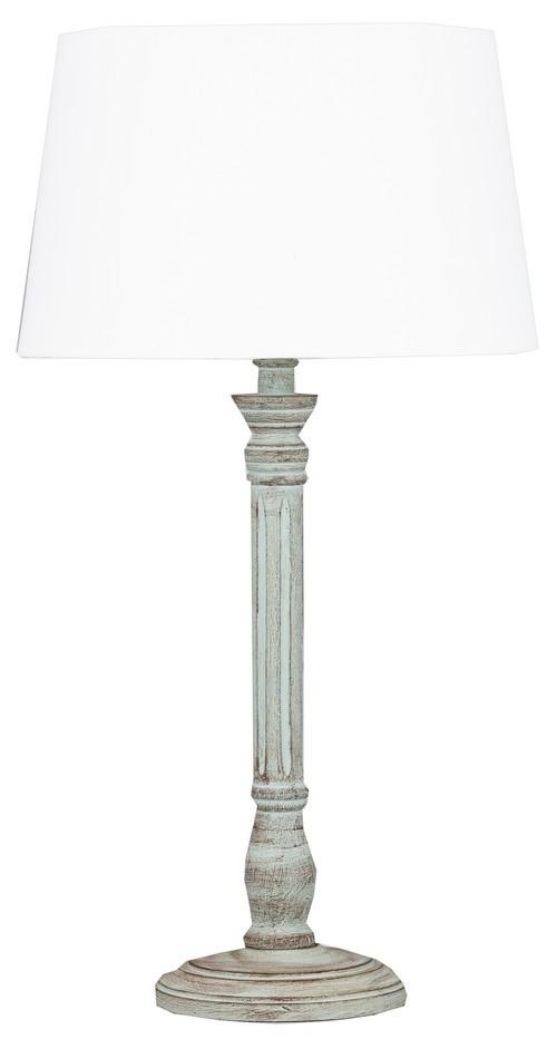 Light Green Wash Table Lamp