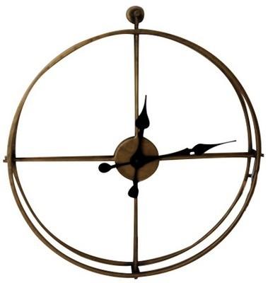 Metal Framed Wall Clock - Medium