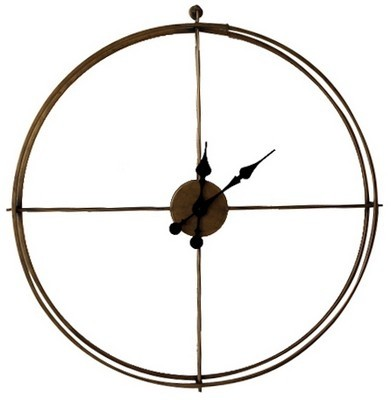 Metal Framed Wall Clock - Large