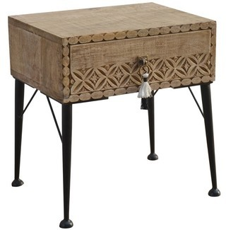 Boho Bedside Table