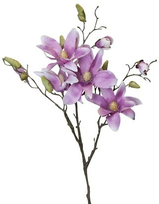 Faux Magnolia Purple