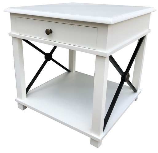 Chateau Lamp Table White