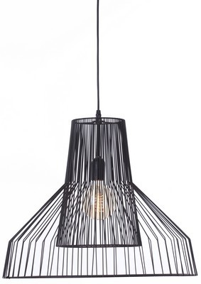 Metal Pendant Light Black