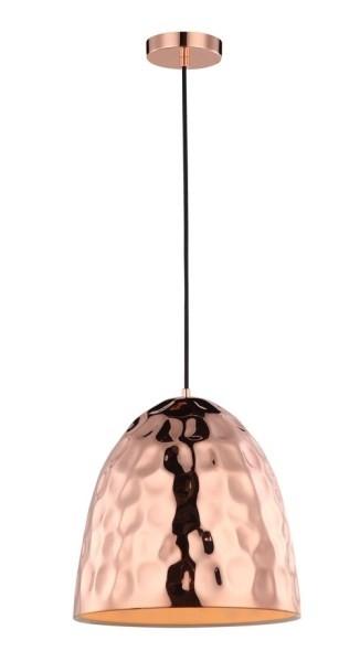 Beaten Copper Pendant Light