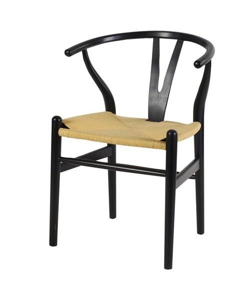 Wishbone Dining Chair - Black