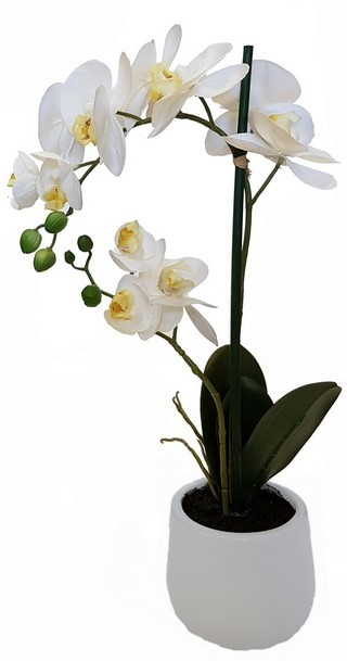Faux Orchid 2 Spray