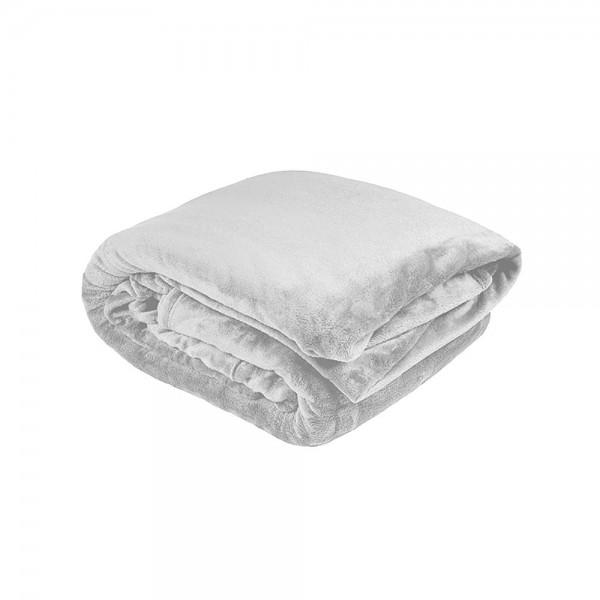 Ultraplush Blanket by Bambury - Silver