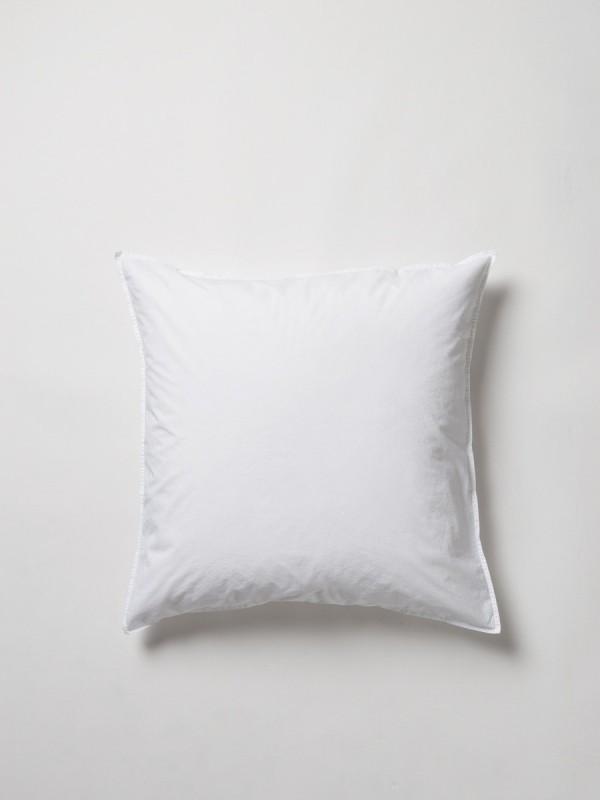 Washed 100% Organic Cotton Euro Pillowcase Pair
