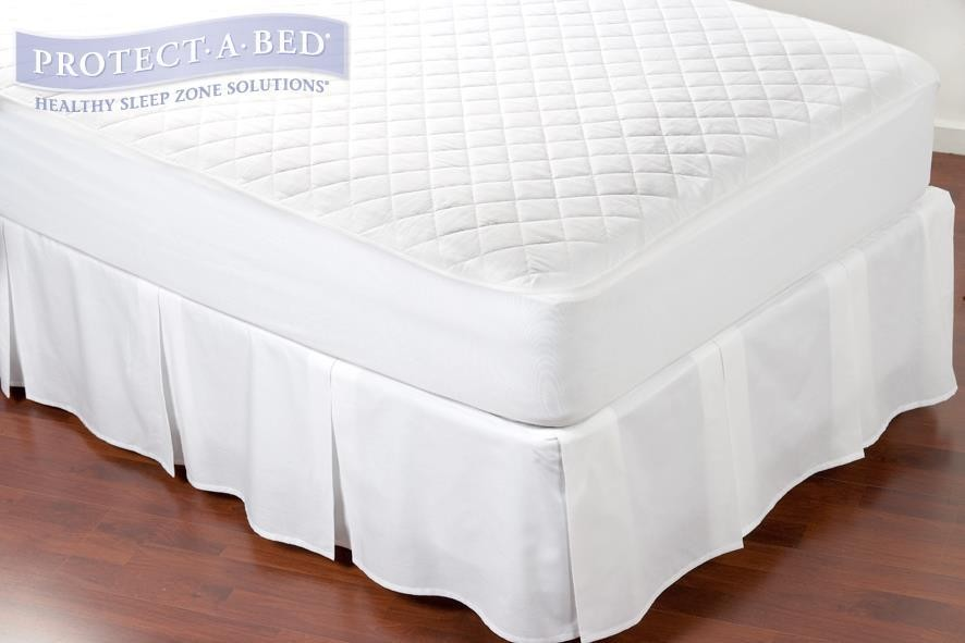 Protect A Bed Quiltguard Cotton Quilted Mattress Protector