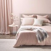 Blush Linen Duvet Cover