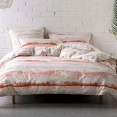Terrain Duvet Cover Set by Nu Edition - Coral