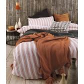Finch Duvet Cover Set by MM Linen - Umber