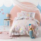 Mermaidia Kid's Duvet Cover Set by Squiggles