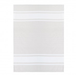 Woven Stripe Tea Towel 3 Pack - Moonbeam