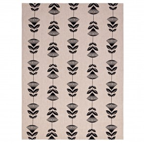 Pohutukawa Black Tea Towel - 3 Pack