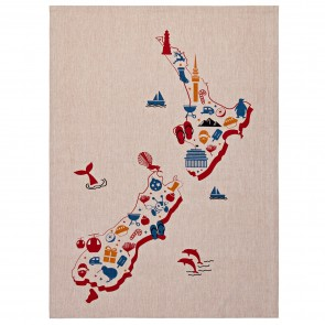Our Place NZ Tea Towel - 3 Pack