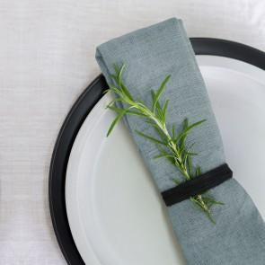100% Linen Napkin Pearl Blue - 4 Pack