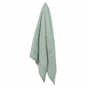 Selene Green Bath Towel 2 Pack