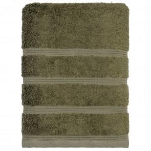Bamboo Bath Sheet Olive Green