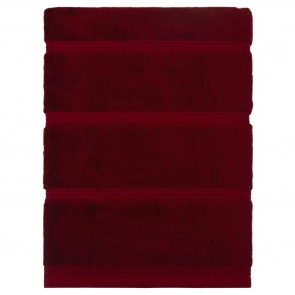 Bamboo Bath Sheet Red