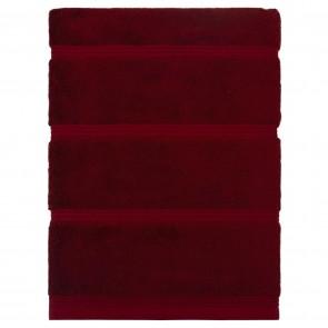 Bamboo Bath Sheet Red