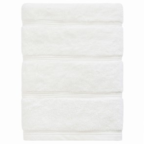 Bamboo Bath Sheet White