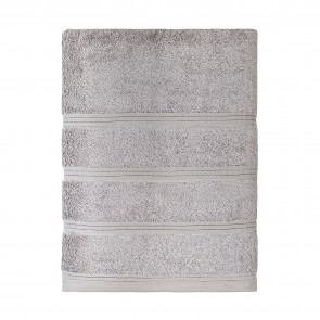 Bamboo Bath Towel Silver - 2 Pack