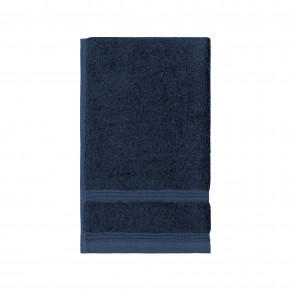 Bamboo Guest Towel Navy - 3 Pack