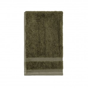 Bamboo Guest Towels Olive Green - 3 Pack