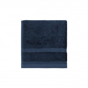 Bamboo Face Washer Navy - 3 Pack