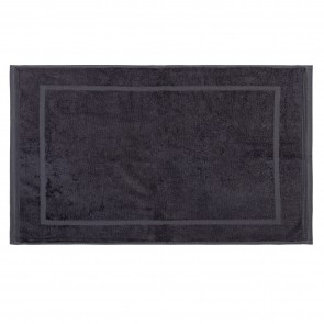 Bamboo Bath Mat Graphite - 2 Pack
