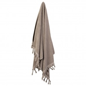 Turkish Cotton Tassel Towel Bath Towel - Natural