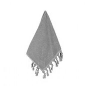 Turkish Cotton Tassel Guest Towel Grey - 3 Pack