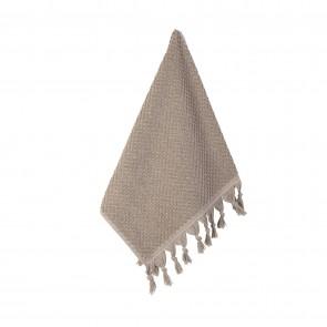 Turkish Cotton Tassel Guest Towel Natural - 3 Pack