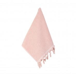 Turkish Cotton Tassel Guest Towel Pink - 3 Pack