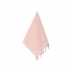 Turkish Cotton Tassel Face Washer Pink- 3 Pack