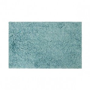 Supersoft Microfibre Bath Mat 2 Pack - Nile Blue