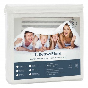 Linens & More Waterproof Mattress Protector