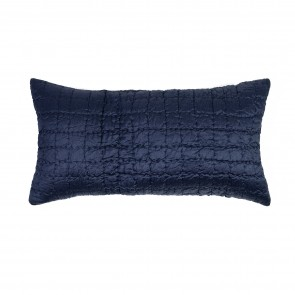 Cassius Filled Long Cushion Indigo - Each