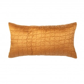 Cassius Filled Long Cushion Ochre