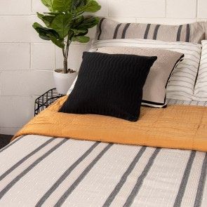 Oliver Textured Duvet Cover Set